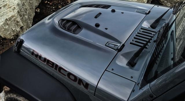 Jeep Wrangler Rubicon Engine