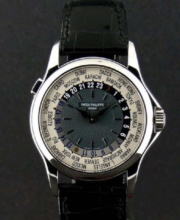 Patek Philippeas Platinum World Time