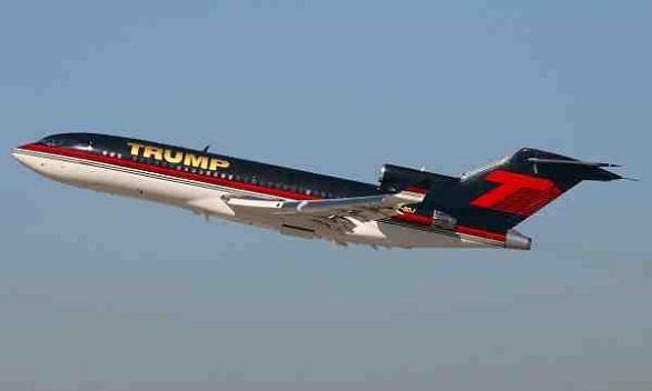 Boeing 727-23, Donald Trump