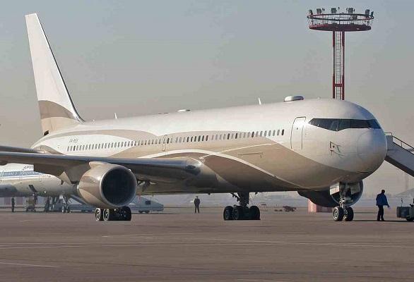 Roman Abramovich, Boeing 767-33A