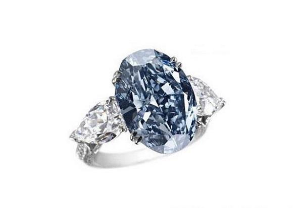 Chopard, Blue diamond ring