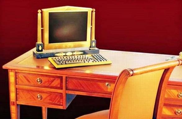 George Chirita gold plated PC