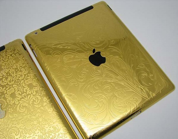 Golden tablet
