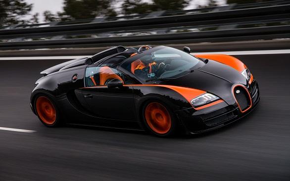 Second place: Bugatti Veyron 16.4 Grand Sport Vitesse