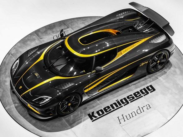 Third place: Koenigsegg Agera S