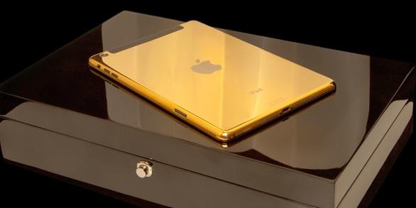 Golden iPad
