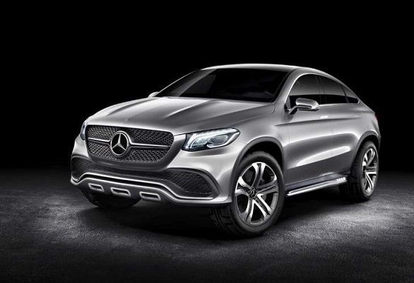 Mercedes M-Class Coupe