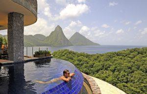 Jade Mountain St. Lucia | Overlooking the Carribean