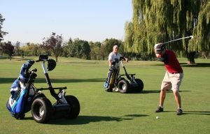 Segway x2 Golf | The absolute way to move around the golf course