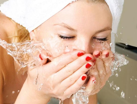 Wash your face every morning and night