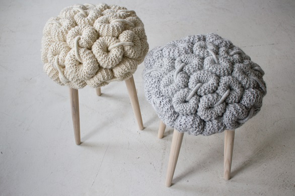 Two of her stools