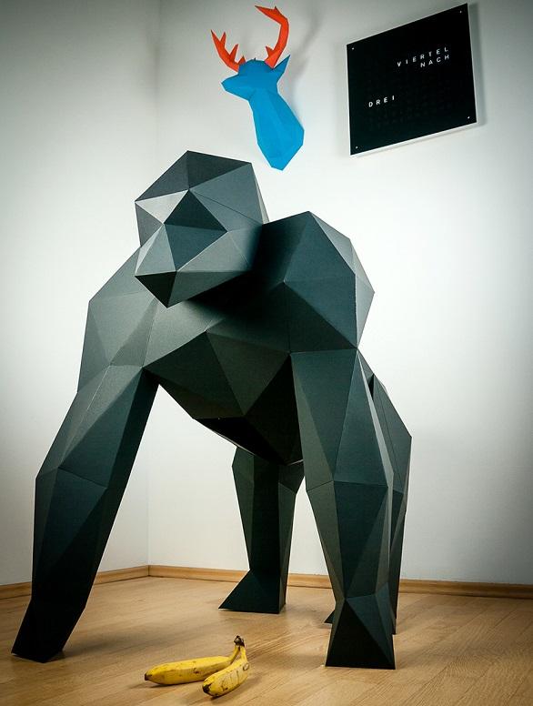 Papertrophy gorilla