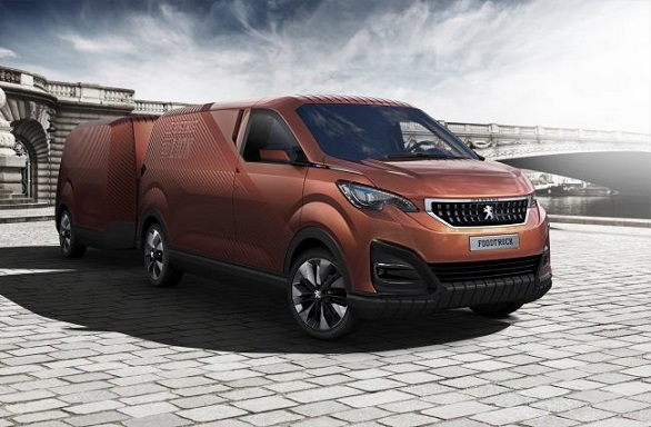 Peugeot shows its Foodtruck for the first time | Milan Design Week