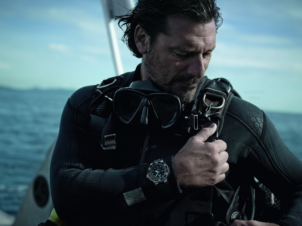 The watch for divers