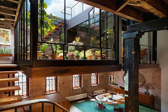 Manhattan | Special attention to the terrace of this loft