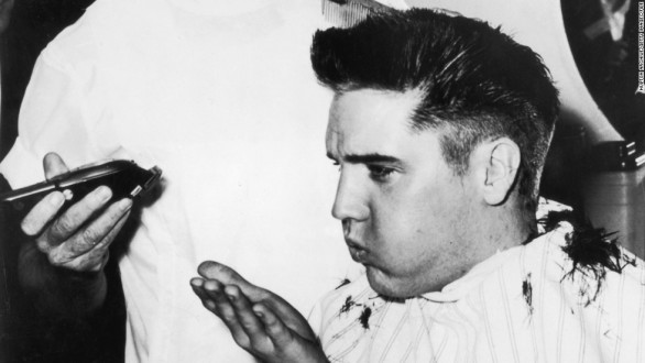 elvis haircut