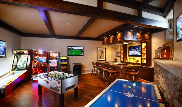 The Most Luxurious And Fabulous Game Rooms
