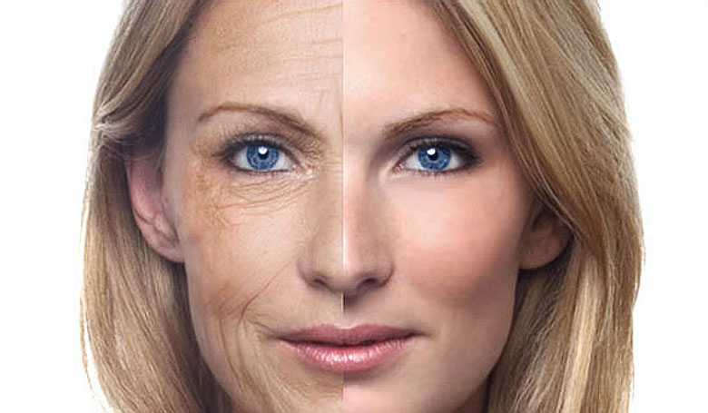 Two signs and ways to deal with an aging skin