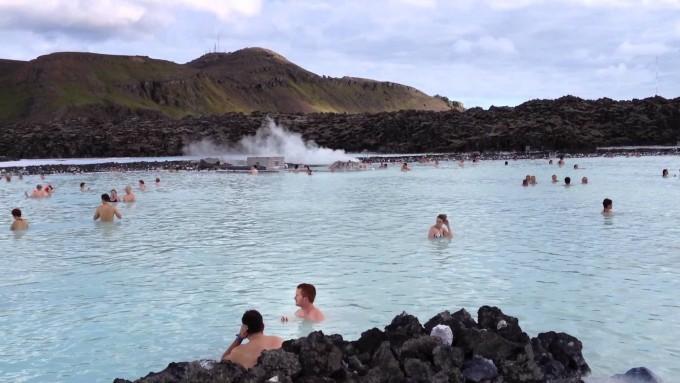 Geothermal Heated Blue Lagoon - Iceland
