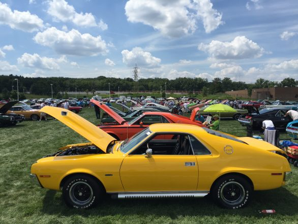 """Awesome Muscle Cars"" AMC - 2015 AMO meet AMXs 2of2"