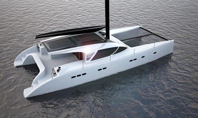 ICE Yachts in nomination with the ICE Cat 61 catamaran