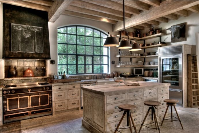 Giving your kitchen a rustic style