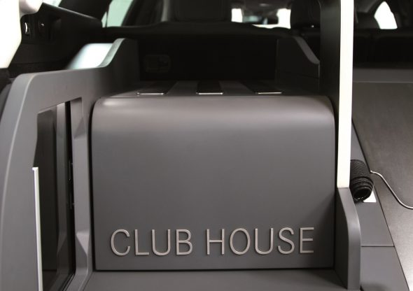 Mercedes E-Class All-Terrain Clubhouse: dedicated to golfers